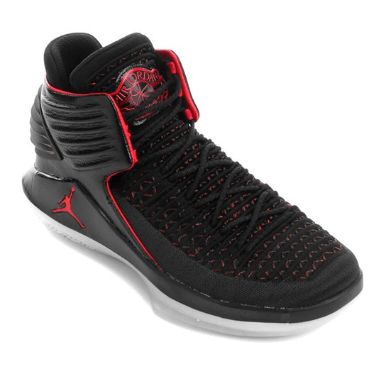 3de501f67d Tênis Nike Air Jordan XXXII Masculino - Preto+Vermelho