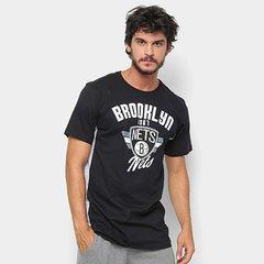 2f01ab1cdf Camiseta NBA Side Cut Brooklyn Nets Masculina