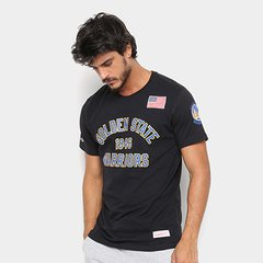 1d48ee39a Camiseta Mitchell   Ness NBA Golden State Masculina