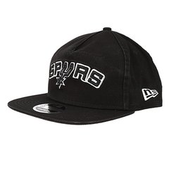 5379b920fd5e3 Boné New Era NBA San Antonio Spurs Aba Reta Retro