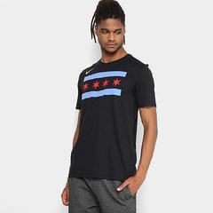 Camiseta NBA Chicago Bulls Nike Masculina 047b0b0a042