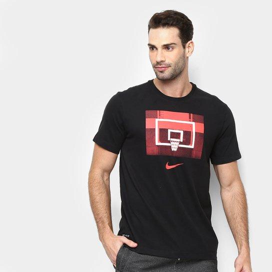 12aeb0934bb Camiseta Nike Dri-Fit Backboard Masculina - Preto - Compre Agora ...