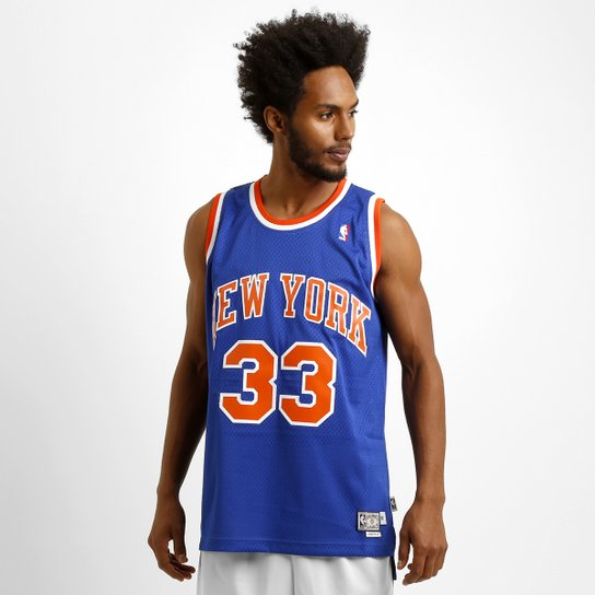 36842bcd5b Camiseta Regata Adidas NBA Retired New York Knicks - Ewing - Compre ...