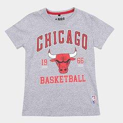 47cb497560 Camiseta NBA Infantil College Chicago Bulls Masculina