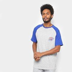 32bf74a28 Camiseta NBA Logo Oklahoma City Thunder Masculina
