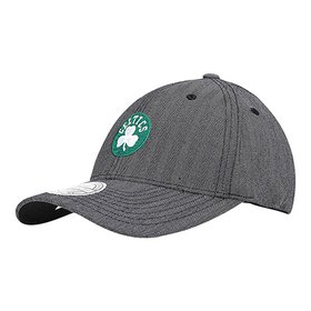 Boné Mitchell   Ness NBA Boston Celtics Aba Reta - Bege - Compre ... 60c6666b7b5