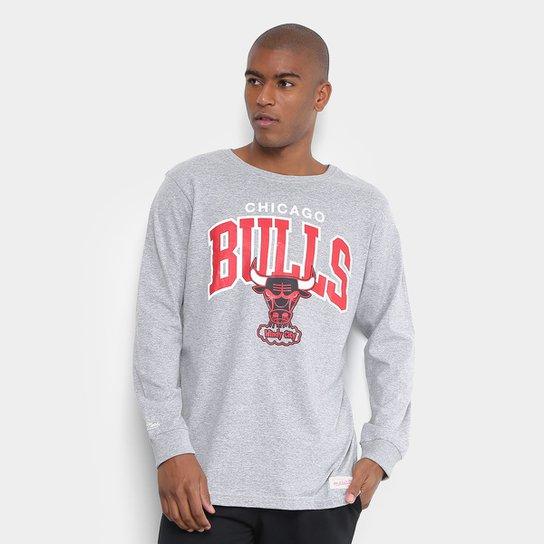 Camiseta Mitchell   Ness NBA Bulls Team Arch Masculina - Compre ... 1b8ffb4d29d9d