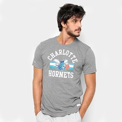 9ab6a28d3 Camiseta Mitchell   Ness NBA Charlotte Hornets 4473 Arch 2 Masculina
