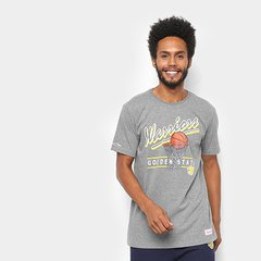 Camisa Mitchell   Ness Drive To The Basket Golden State Warriors Masculina d5237525b5580
