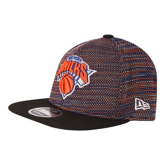 08d4c2074b054 Boné New Era NBA New York Knicks Aba Reta Street - Preto e Laranja ...
