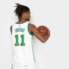 96b9953a1 Regata Swingman NBA Boston Celtics - Kyrie Irving JSY City Edition 18 Nike
