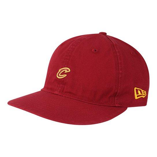 05593fcfd55a3 Boné New Era NBA Cleveland Cavaliers Aba Reta 950 Lp St Mini Logo Car -  Vermelho
