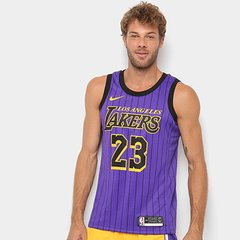 5311a13643 Regata Swingman NBA Los Angeles Lakers Jersey Ce 18 Nike Masculina
