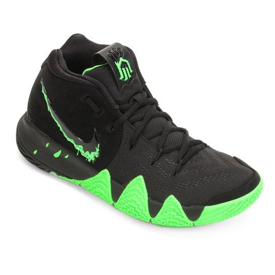 45c66eb69fe Tênis Nike Kyrie 4 Masculino - Preto+Verde Claro