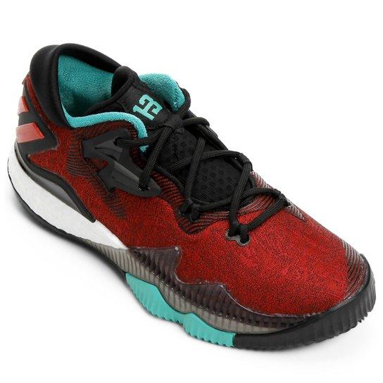 Tênis Adidas Crazylight Boost Low - Preto e Branco - Compre Agora ... a6705a003a6f7