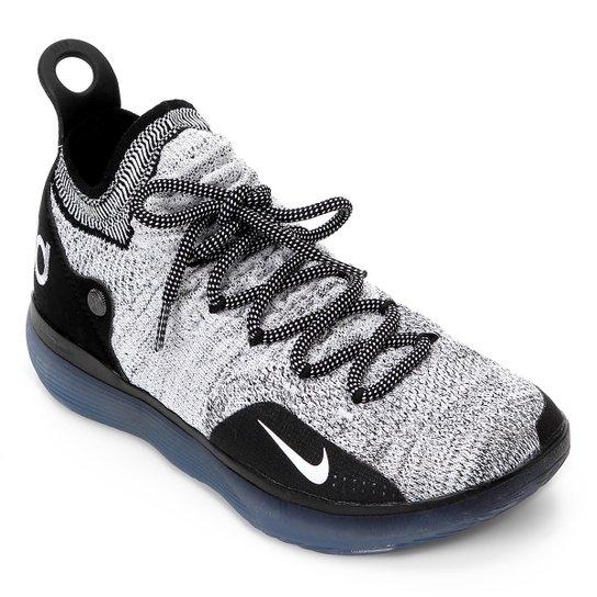 99d080a96b Tênis Nike Zoom KD 11 Masculino - Preto e Branco - Compre Agora ...