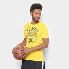 8d40d8518 Camiseta Nike Golden State Warriors Stephen Curry Masculina