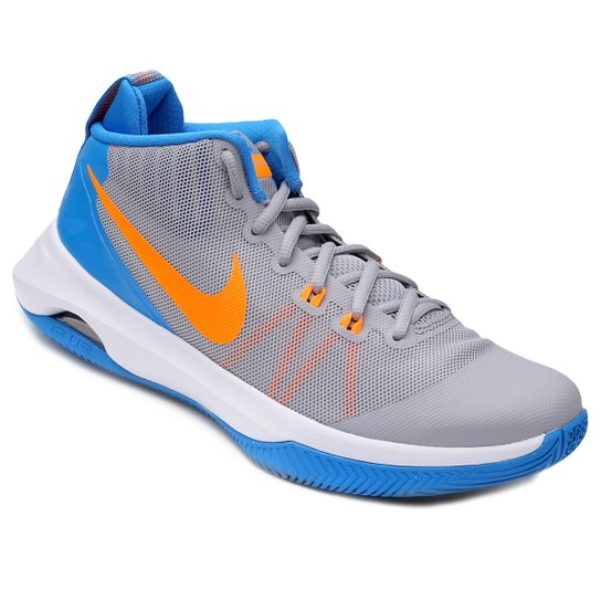 9b421fcb5b Tênis Nike Air Versitile Masculino - Cinza e Azul