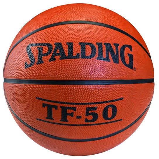 7b76dbd52 Bola Basquete Spalding TF - 50 - Laranja - Compre Agora