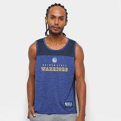 873a53e269 Camiseta Regata NBA Warriors Fio Tinto Mesh 17 Masculina