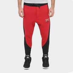 Calça New Era NBA Recorte Mesh Chicago Bulls c60f3c797cbb5