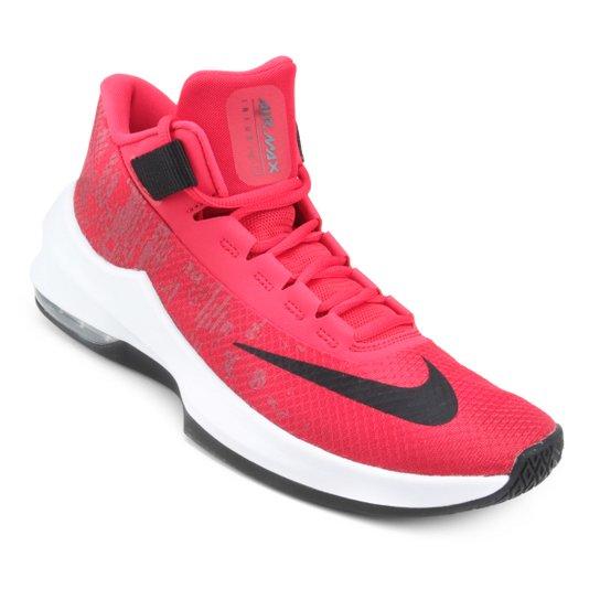d6ffc8e614 Tênis Nike Air Max Infuriate 2 Mid Masculino - Vermelho e Preto ...
