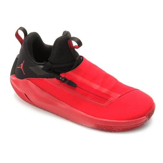 watch aecde 41ef4 Tênis Nike Jordan Jumpman Hustle Masculino - Vermelho+Preto