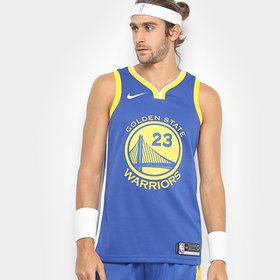 Regata Swingman NBA Golden State Warriors Nike Road Curry - Azul e ... 06c2d2ac98a