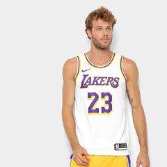 0be17d1f1e Camiseta Regata Nike NBA Swingman Los Angeles Lakers Jersey Home