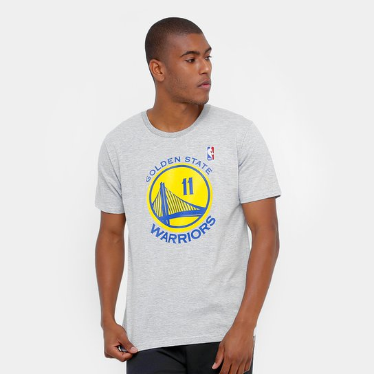 a6aecc1a2 Camiseta NBA Golden State Warriors - Thompson 11 Masculina - Compre ...