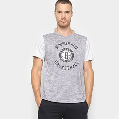 185dcbdc5112a Camiseta NBA Brooklyn Nets 17 Fio Tinto Mesh Masculina
