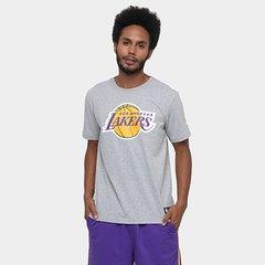48aa60745c2bd Camiseta New Era NBA Basic Logo Los Angeles Lakers