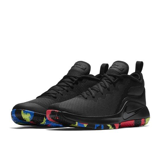 new concept 2c90a fa73c Tênis Nike Lebron James Witness II Masculino - Preto+Chumbo