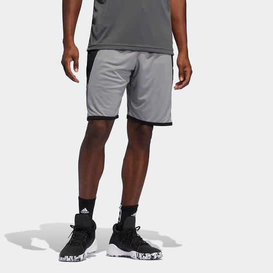 Bermuda Adidas Pro Madness Masculina - Cinza