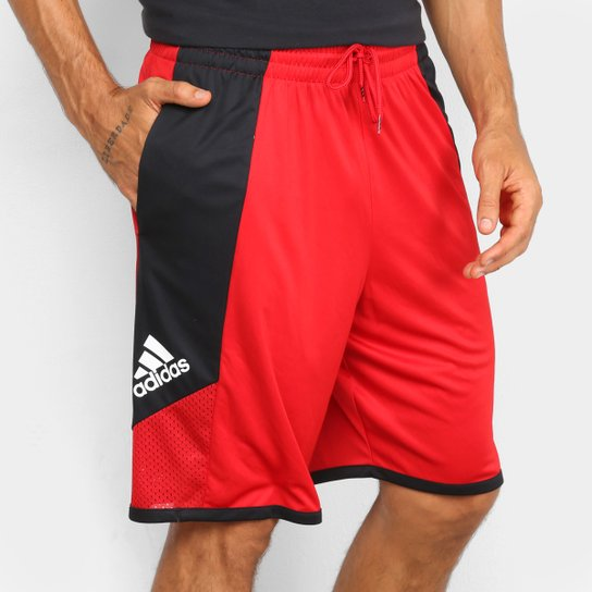 Bermuda Adidas Pro Madness Masculina - Vermelho