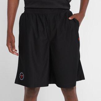 Bermuda Chicago Bulls New Era Jersey College Team Circles Masculina