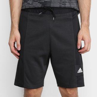 Bermuda Moletom Adidas 365 Masculina