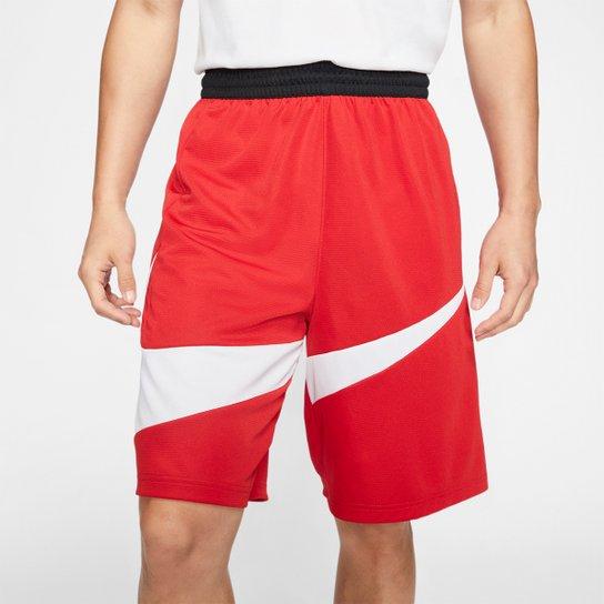 Bermuda Nike Dri-Fit 2.0 Masculina - Vermelho