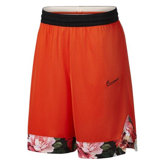 Bermuda Nike Dri-Fit Icon Masculina - Laranja+Preto