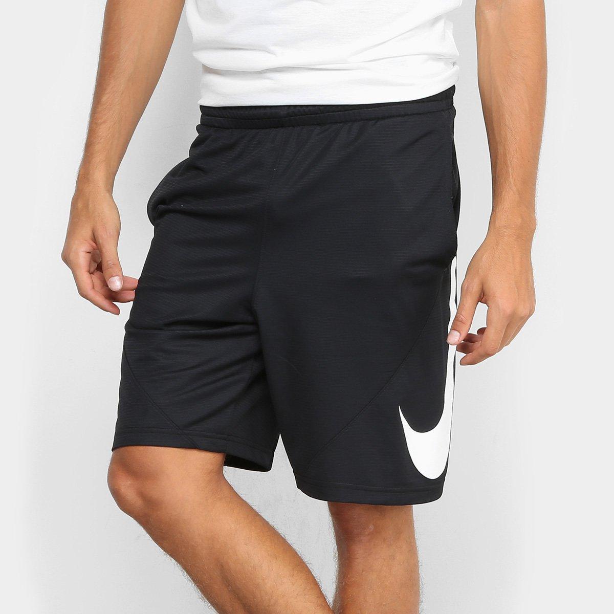 52a6fbdc0 Bermuda Nike HBR Masculina - Preto - Compre Agora
