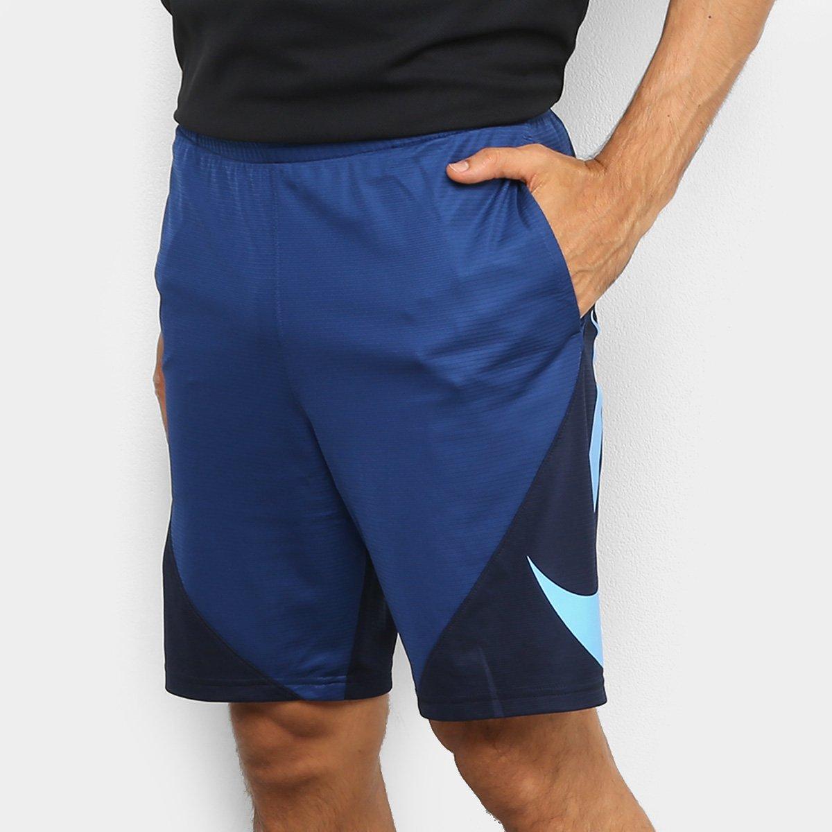 garantía limitada 60% barato promoción especial Bermuda Nike HBR Masculina - Azul Royal | Loja NBA