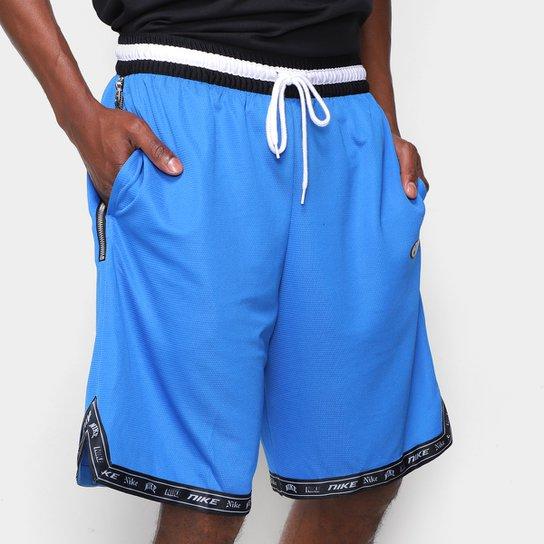 Bermuda Nike NBA Dna Masculina - Azul+Preto