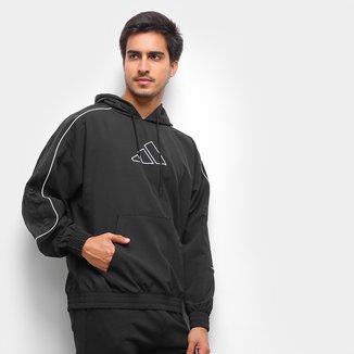 Blusa Adidas Harden Canguru Masculina