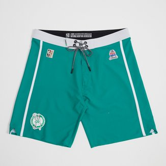 Boardshort NBA Boston Celtics Mitchell & Ness Subli Masculino