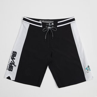 Boardshort NBA San Antonio Spurs Mitchell & Ness Subli Masculino