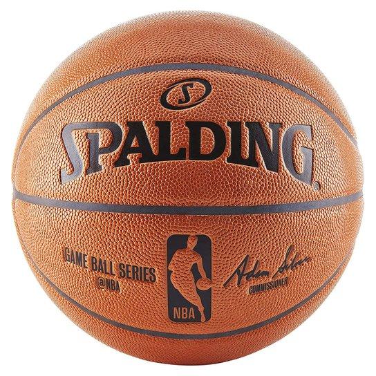 Bola de Baquete Spalding NBA Game Ball - Laranja