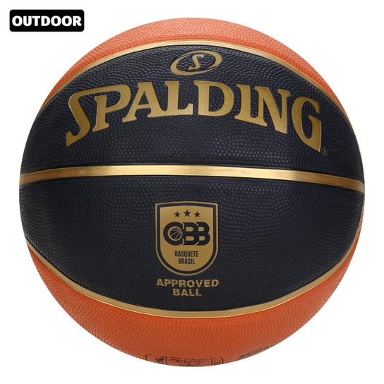 Bola de Basquete Spalding - TF-50 CBB - Laranja+Preto