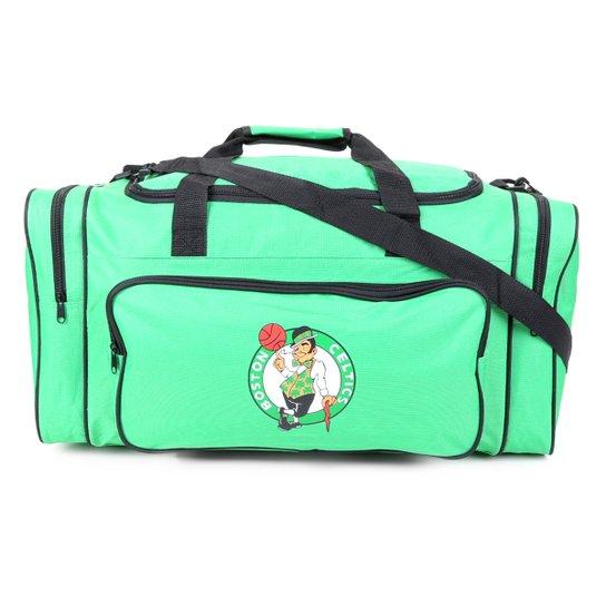 Bolsa NBA Boston Celtics Maccabi Art - Verde+Preto
