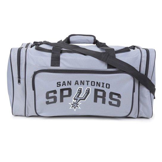 Bolsa NBA San Antonio Spurs Esportiva - Cinza