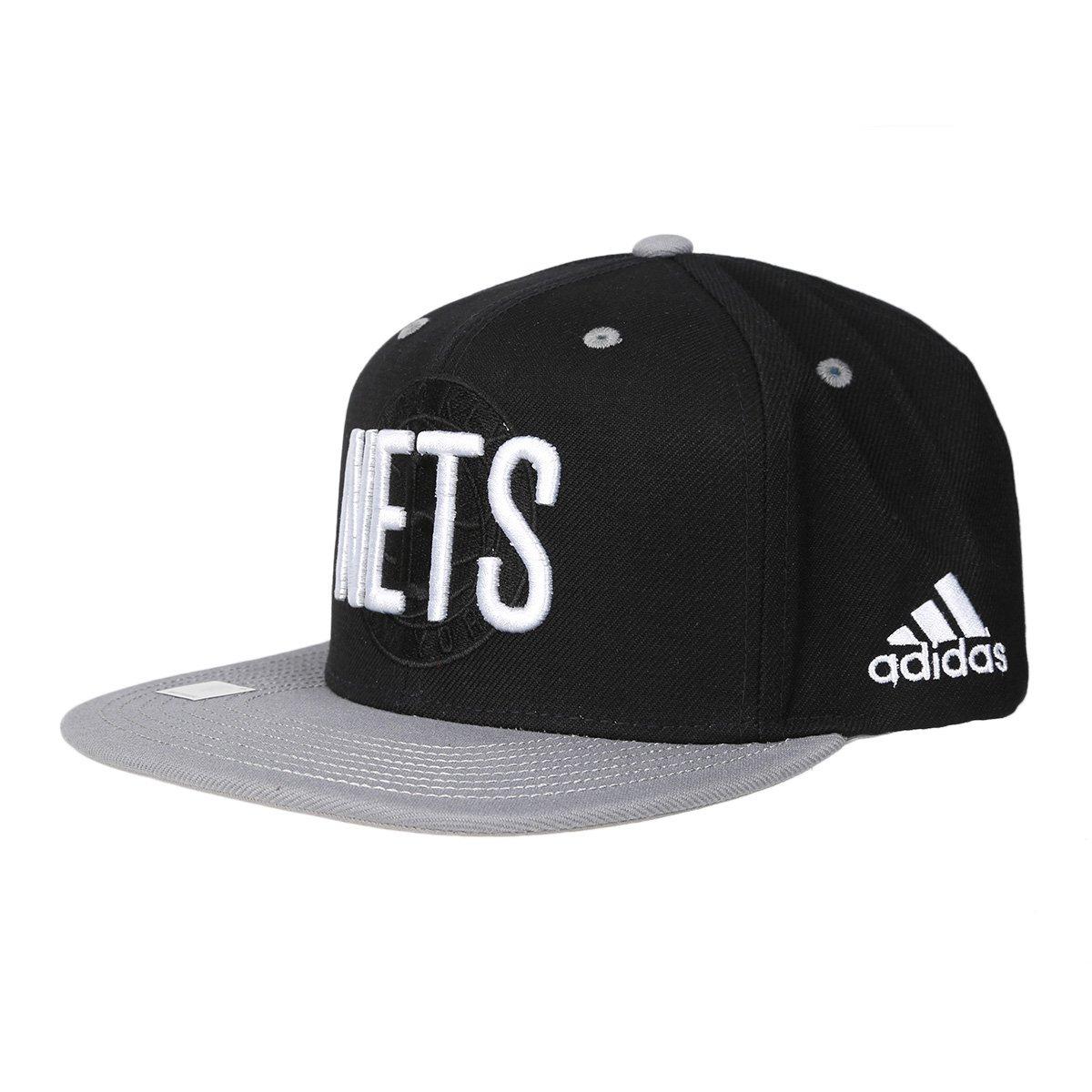 Boné Adidas Brooklyn Nets Aba Reta   Loja NBA